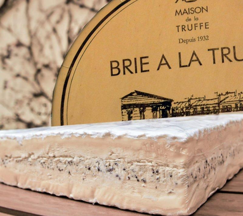 Latte e maison de la truffe brie a la truffe brie - Maison des truffes paris ...